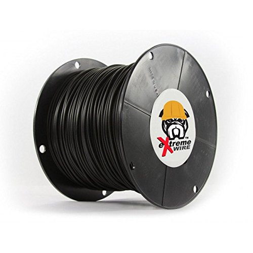 Professional Grade Heavy Duty Solid Core Electric Dog Fence Wire - Compatible With All Wired Electric Pet Fence Systems - 2000 Feet by Extreme Dog Fence