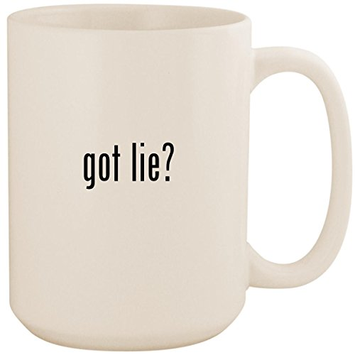 got lie? - White 15oz Ceramic Coffee Mug ()