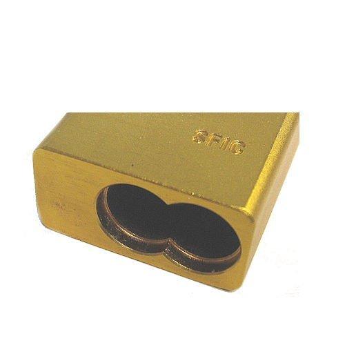 1 1//2 Width CCL Security 90316 Yellow SFIC Sesamee 900 Series Aluminum Body Padlocks