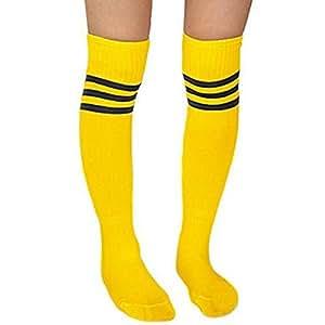 Popular Men Women Soccer Baseball Football Sport Over Knee Ankle Socks