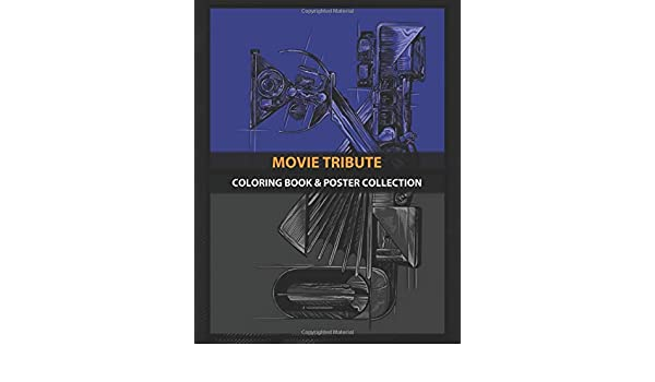 Coloring Book & Poster Collection: Movie Tribute Vk Tv Shows ...
