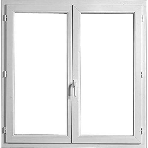 Dreifach Verglaste Fenster fenster pvc weiß h 85 cm x l 40 cm 1 flügelbreite öffnen an