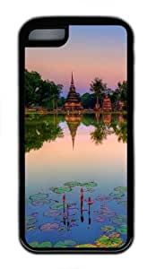 Sukhothai historical park thailand TPU Case Cover Protector for iPhone 5C Black