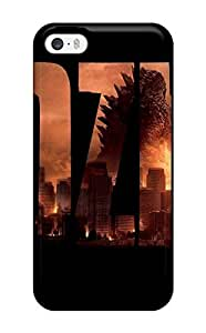 Anti-scratch And Shatterproof Godzilla Movie Phone Case For Iphone 5/5s/ High Quality Tpu Case