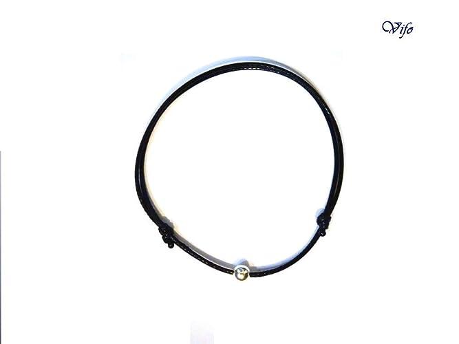prix compétitif d46b6 95772 Bracelet cordon noir, Bracelet minimaliste, Cordon nœuds ...