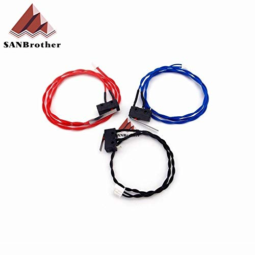 GIMAX UM2 3D Printer Ultimaker 2 Extended Limit Switch Kit Red Blue Black Cable Endstop HX2.54 Connector