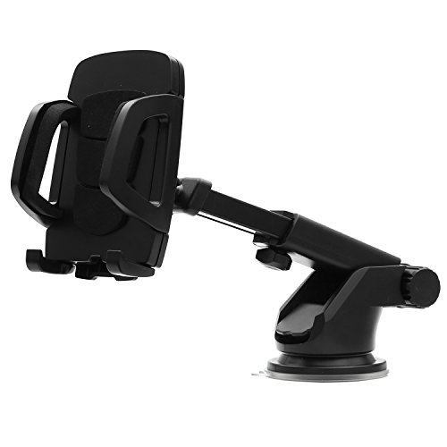Lifestyle You Premium Extendable Telescopic Car Mount Mobile Holder for Windshield or Dashboard.