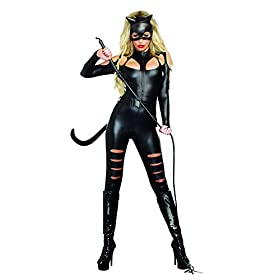 Dreamgirl Womens Catwoman Costume