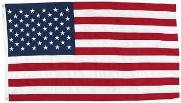20 X 30 Tough Tex 2 Ply Polyester Us Flag Outdoor Flags Garden Outdoor Amazon Com