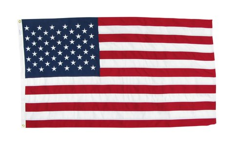 15' x 25' Tough Tex - 2-Ply Polyester US Flag