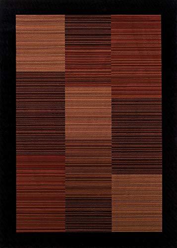- Couristan 0766/4998 EVEREST Hamptons 110-Inch by 149-Inch Polypropylene Area Rug, Multi Stripe