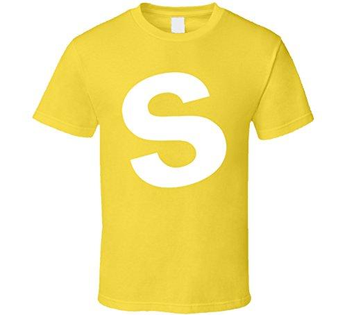 Threadsquad Skittles Candy Yellow Halloween Costume T Shirt S Daisy