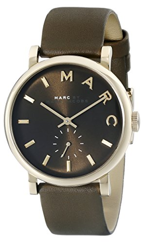 (Marc by Marc Jacobs Women's MBM1328 Baker Analog Display Analog Quartz Green Watch)