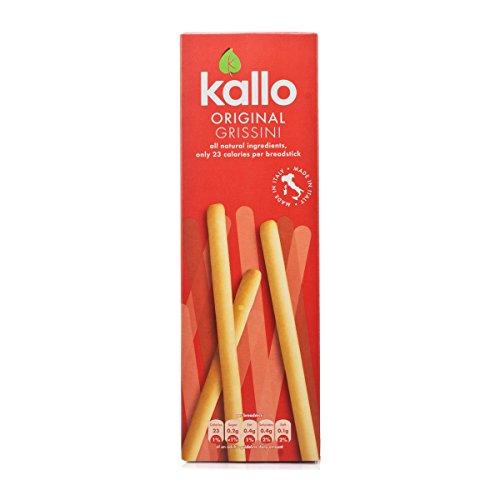 (12 PACK) - Kallo - Grissini Breadsticks Original | 125g | 12 PACK BUNDLE by Kallo