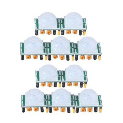 - J-deal Pyroelectric Infrared PIR Motion Sensor Detector Module Hc-sr501 (10pcs)