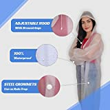 Reusable Rain Ponchos (2 Pack) Emergency Portable
