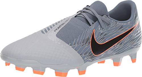 Nike Phantom Venom Academy FG Soccer Cleats (Wolf Grey/Hyper Crimson) (Men's 8/Women's 9.5) (Women Soccer Shoes Nike)