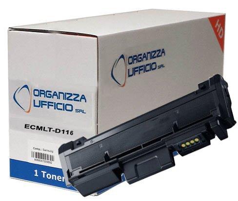 Toner Compatibile MLT-D116L NERO per Samsung 3.000 Pagine XPRESS SL-M2625, SL-M2625D, SL-M2675F, SL-M2675FN, SL-M2675N, SL-M2825ND, SL-M2825DW, SL-M2835, SL-M2875FD, SL-M2875FW, SL-M2875ND, SL-M2885FW, SL-M2886. Durata 3.000 Pagine al 5% di copertura. ORG