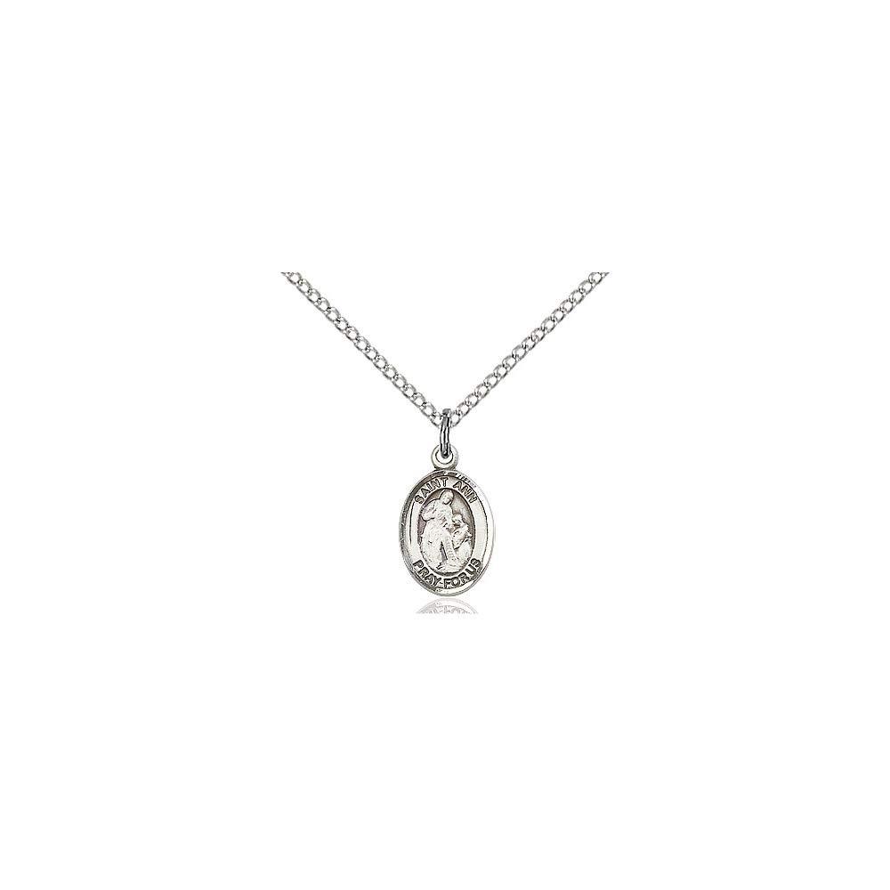 DiamondJewelryNY Sterling Silver St Ann Pendant