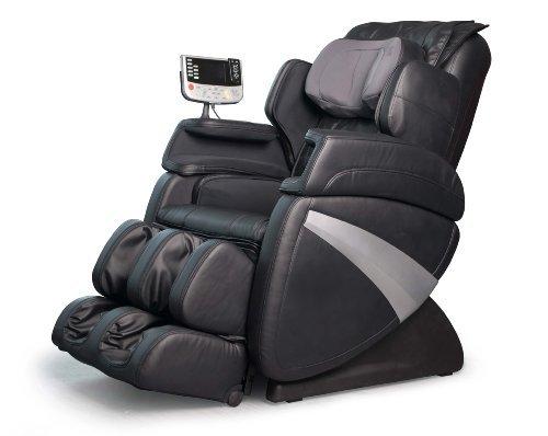 Cozzia EC363E Shiatsu Massage Zero Gravity Chair - Black (Cozzia Massage)