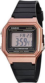 Casio Reloj Casio W-217HM-5AVCF Rosa for Unisex Adulto