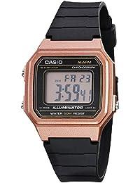 Casio W-217HM-5AVCF Reloj Casio W-217HM-5AVCF Rosa for Unisex Adulto, Negro, Unisex