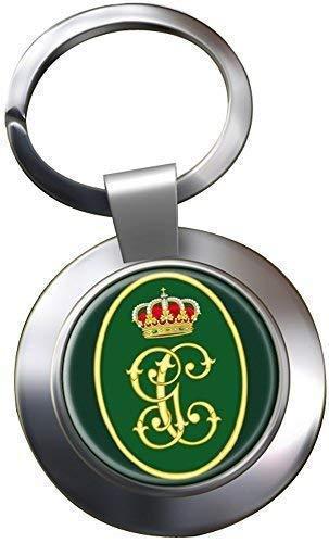Guardia Civil Monogram Llavero Cromado: Amazon.es: Ropa y ...