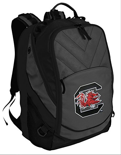 South Carolina Gamecocks Backpack University of South Carolina Computer Bags w/ LAPTOP SECTION