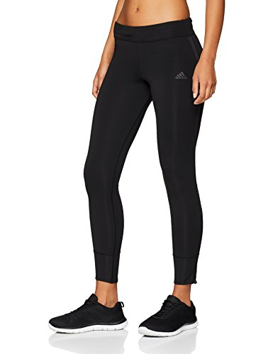 adidas Response Long Tights Women's (Black/Black, XS)
