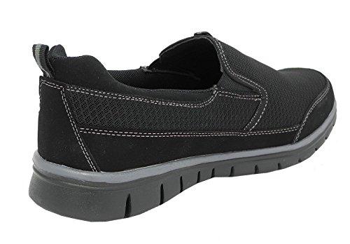 Dek - Zapatillas de Material Sintético para hombre negro