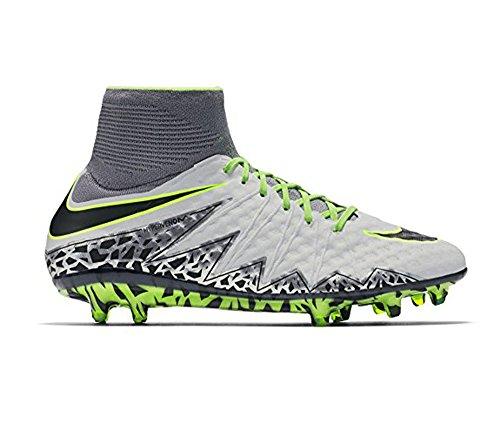 Nike Mens Hypervenom Phantom Ii Fg Scarpe Da Calcio Argento