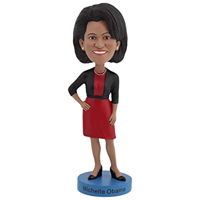 Royal Bobbles Michelle Obama Bobblehead: Toys & Games