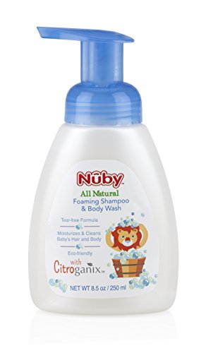 (Nuby All Natural Foaming Shampoo and Body Wash)