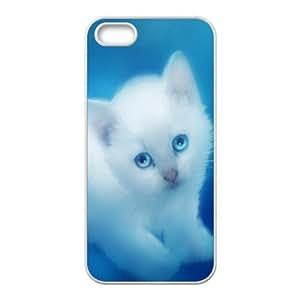 Iphone 5/5S Case, Cute White Kitten Case for Iphone 5/5S White Leemarson if4111675