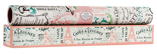 Elodie Essentials Paris Vintage Charm Scented Drawer Liners (French Lavender) ()