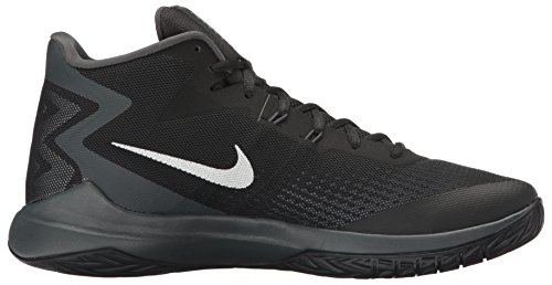 Silver Metallic Nike Zoom Mens Anthracite Mesh Black Trainers Evidence wgpqRxpYA0