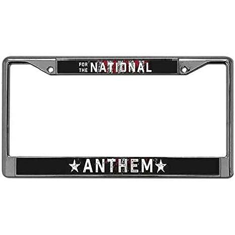 CANADA CANADIAN FLAG BLACK License Plate Frame Tag Holder