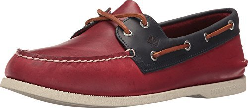 Sperry Top-Sider Men's A/O 2-Eye Sarape Red/Navy Oxford