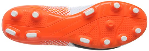 Puma Evospeed 3,5 Lth Fg Chaussure de Football Blanc/Noir/Orange Shocking 6,5