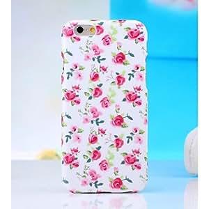hi-q patrón de agua calcomanías flor TPU caso suave para el iPhone6