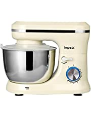 Impex 8-Speed Stand Mixer 400W With Stainless Steel Bowl SM 3305 Cream
