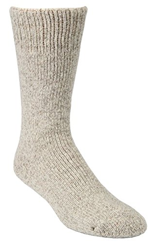 Price comparison product image Winter Sock- J.B. Field's Artic Trail -40 Below Sock 2 pair (XL, Beige)