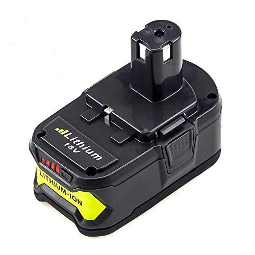 5.0Ah High Capacity Replacement Ryobi 18V Battery ONE+ Lithium ion P108 P104 P105 P103 P107 P109 Cordless Power Tools - Replacement Capacity High