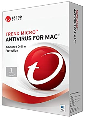 Trend Micro Antivirus for Mac, 2017, 1 Device