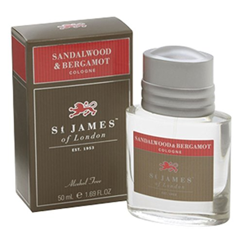 - St James of London Sandalwood & Bergamot Cologne