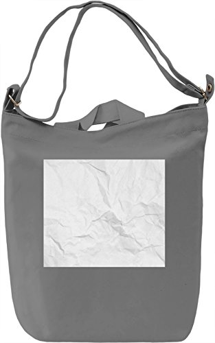 Papper Texture Borsa Giornaliera Canvas Canvas Day Bag| 100% Premium Cotton Canvas| DTG Printing|