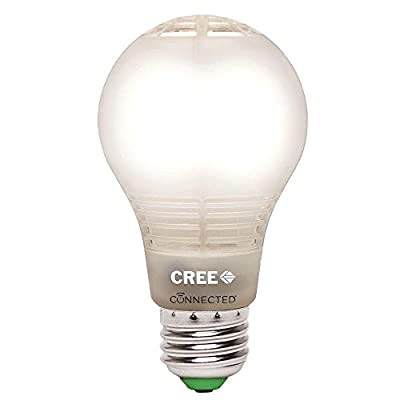 Cree Connected 60W Soft White (2700K) Dimmable LED Light Bulb (Single Pack)