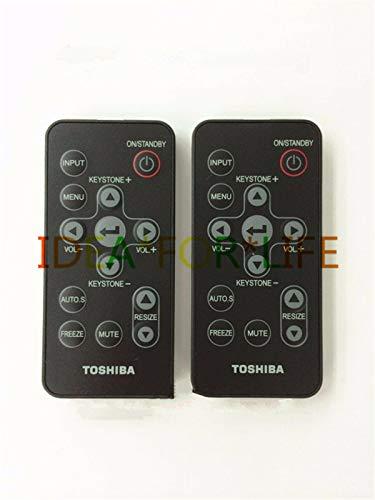 - FidgetKute 1PC Projector Remote Control for Toshiba TDP-SP1/TDP-XP1/XP2/XP1U/XP2U #T1201 YS