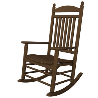 Polywood Jefferson Rocker in Teak