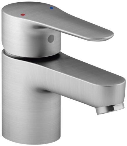 KOHLER K-16027-4-G July Single Handle Bathroom Sink Faucet, Brushed Chrome by Kohler